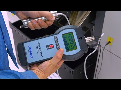 Desco Europe - Body Voltage Meter