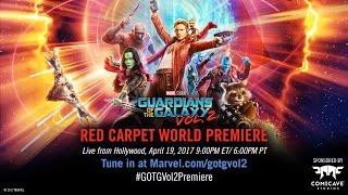 No te pierdas la transmisión en vivo de la alfombra roja de GuardianesDeLaGalaxiaVol2