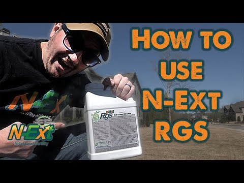 How to Use N-Ext RGS // Scalping Bermuda Grass // N-Ext DIY Lawn Care Tips