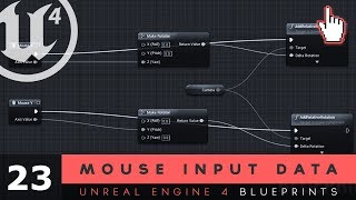 Using input events 22 unreal engine 4 blueprints tutorial series mouse input data 23 unreal engine 4 blueprints tutorial series malvernweather Images