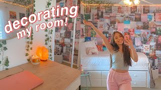 clean + decorate my room with me for fall!