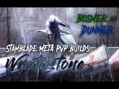 Stamblade PvP META Builds for the Wrathstone Patch - Dunmer