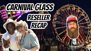 Reseller Recap - Glass Is In Session - Carnival Glass - Live With Josie, Tim, And Ma Dukes