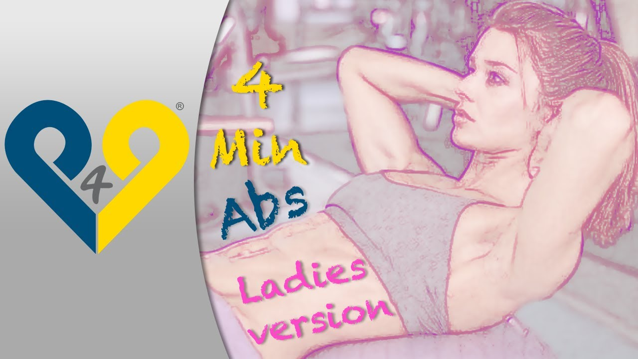 Ab workout for women – 4 Mins Abs Workouts