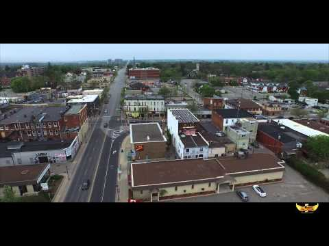 Video Downtown Whitby Durham Ontario