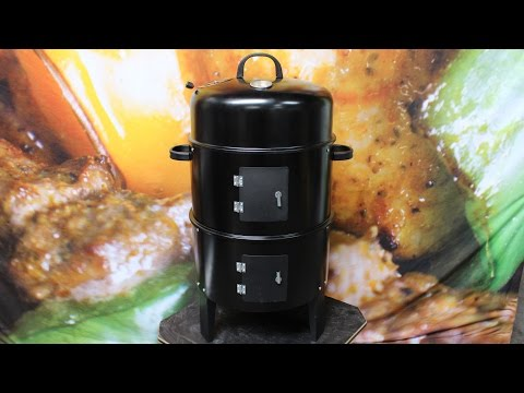 Outdoor Central 3-in-1 Charcoal Smoker, Roaster and Grill Review