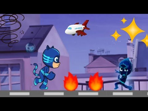 Pj Masks Game In App Super Pigiamini Cartoni Charlie Video