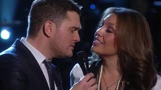 Michael Buble & Thalía - Feliz Navidad (Live)