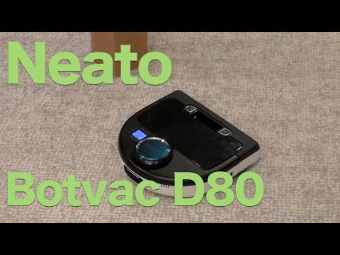 Neato Botvac D80 Review, Robotic Vacuum That Cleans While You Sleep