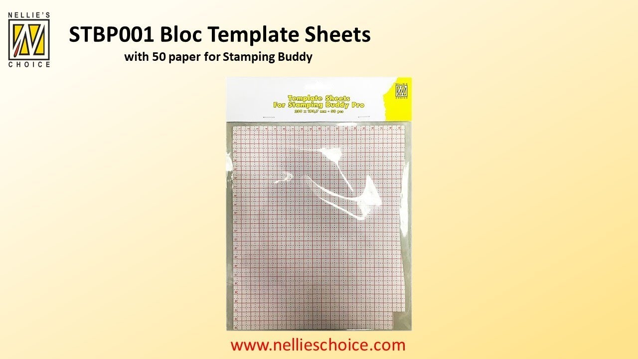 Nellie`s Choice - Template Sheets for Stampingbuddy Pro