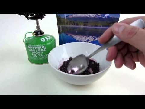 Mountain House Blueberry Cheesecake Freeze Dried Dessert Review by MUDD CREEK