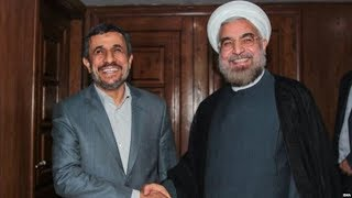 نحوه مقابله دولت روحانی و احمدی نژاد با مخالفان