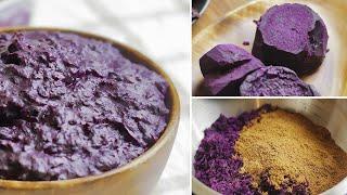 Purple Yam Recipe - Ube Halaya (Filipino Dessert)