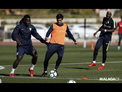 Ideye, Success y Lestienne se incorporaron al trabajo del Málaga CF