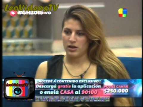 Angie Romina y Matias estan nominados GH 2015 #GH2015 #GranHermano