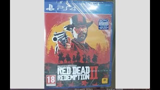 Red Dead Redemption 2 Standard Edition Unboxing (Official)