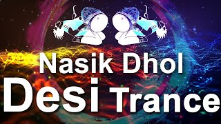 Desi Dhol | Desi Trance | 1 Hour animated screensaver with trance | Motion graphics live stream HD