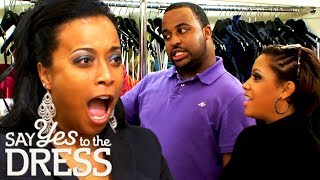 Shell Not Wear This Dress! | Say Yes To The Dress Bridesmaids