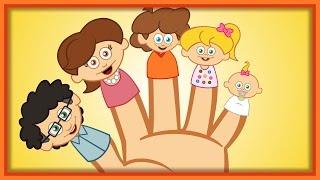 Finger Family - Sevimli Dostlar Ile İngilizce Çocuk Şarkıları 2015