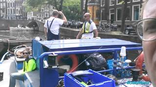 Bicycle Fishing in Amsterdam with Daily Planet