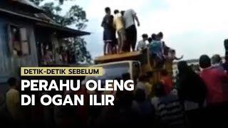 Detik-detik Sebelum Perahu Oleng di Ogan Ilir, Para Korban Sempat Melambaikan Tangan