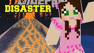 Minecraft: NATURAL DISASTERS! (FIRESTORMS, EARTHQUAKES, & POISON GAS!) Custom Command