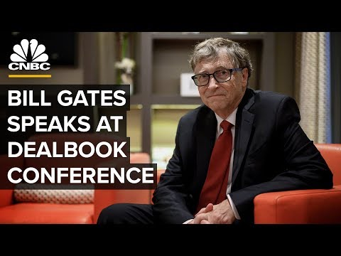Bill Gates speaks at New York Times DealBook Conference – 11/6/2019