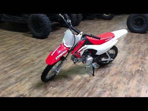 2018 Honda CRF110F in Murrieta, California