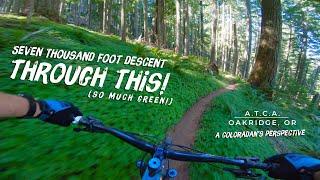 7,000 foot descent through Oregon's backcountry!