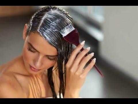 Olej lniany maluje włosy