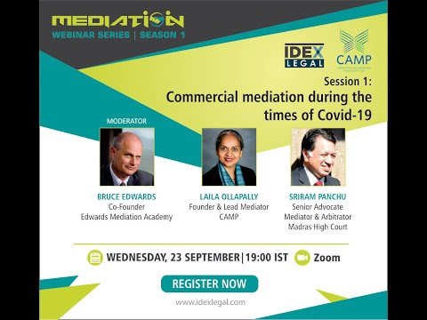 Commercial Mediation in times of Covid-19