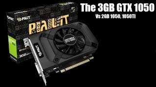 Gaming With The 3GB GTX 1050