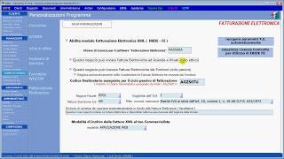 FE - Attivazione e configurazione del modulo Fatturazione Elettronica