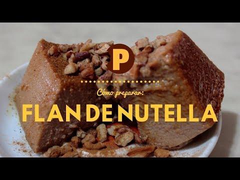 Vídeo Flan de Nutella