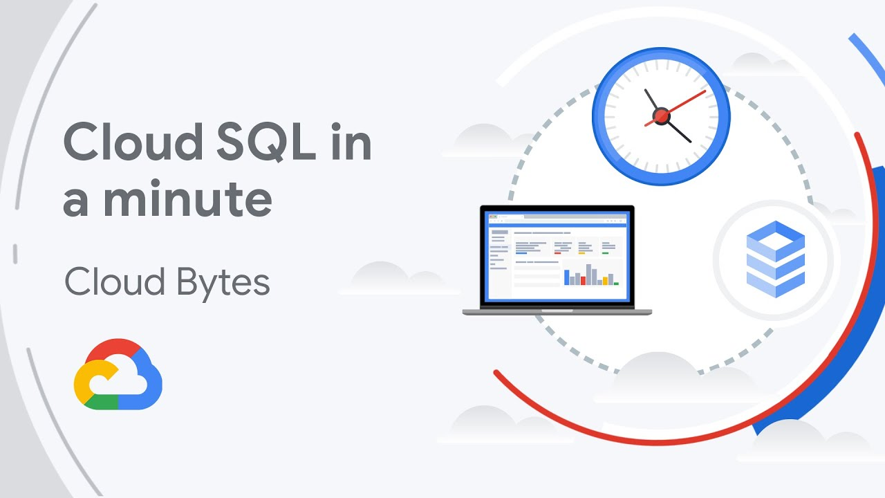 Cloud SQL is a fully-managed database service that helps you set up, maintain, manage, and administer your relational databases on Google Cloud. In this video you'll learn how Cloud SQL can help you with time-consuming tasks such as patches updates, replicas, and backups so you can focus on designing your application.