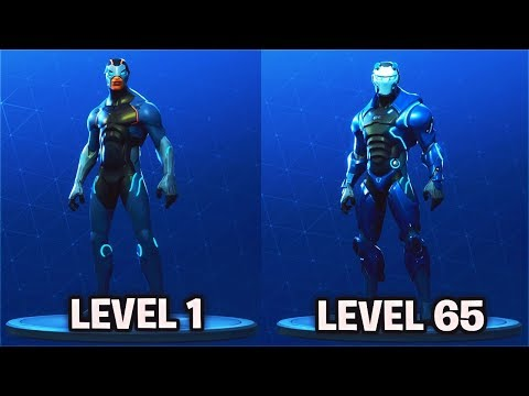 LEVEL 65 CARBIDE Full Armor Unlocked! Fortnite Season 4 Battle Pass Skin Fully Upgraded