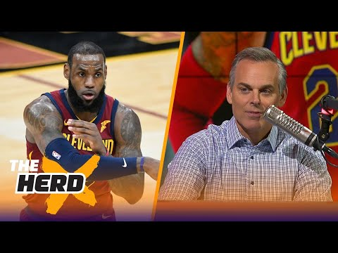 Colin on LeBron 'owning these baby dinosaurs' and Philly reaching 40 wins   THE HERD