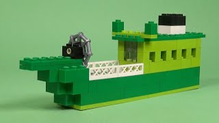 LEGO Ship 001 Building Instructions - Basic 530 How To