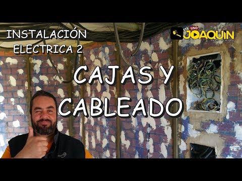 INSTALACIÓN ELÉCTRICA EN CASA PASO A PASO (cableado y colocación de cajas)