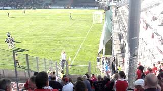 preview picture of video 'SpVgg Unterhaching vs. FC Rot-Weiß Erfurt 20.10.2012'