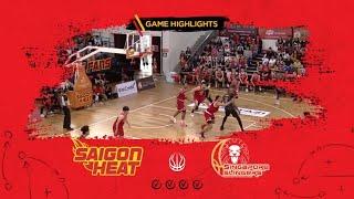 Highlights ABL9 || Home - Game 25: Saigon Heat vs Singapore Slingers 17/03