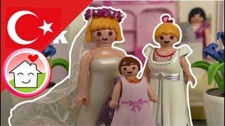 Playmobil Türkçe Mega Pack - Hauser Ailesi ile Düğünler -  düğün Çocuk filmi
