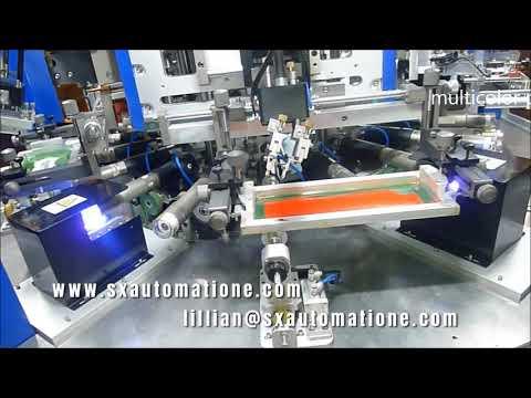 Adquisición de maquinaria totalmente automática para serigrafía multicolor.