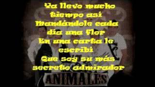 tu admirador secreto - los animales