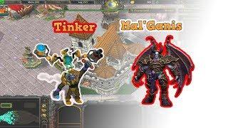 """Siêu Phẩm"" Solo - MalGanis vs Tinker (DDay 19.9b - Warcraft 3)"