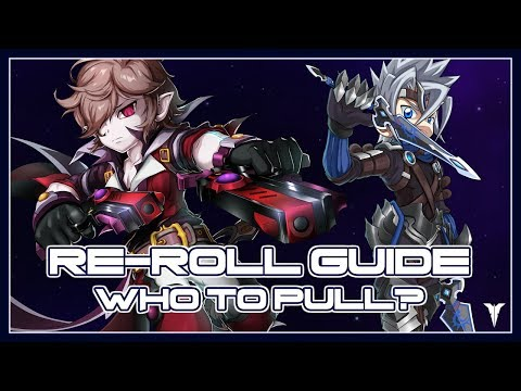 GRAND CHASE FAST REROLL GUIDE & TIER LIST! | Grand Chase