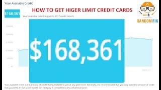 ▶️$168,361 How To Get Higher Limit Credit Cards, Learn the SECRET Learn About CARDMATCH