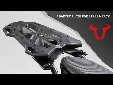 Adapterplatte für STREET-RACK Gepäckträger - Tutorials | SW-MOTECH