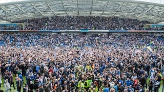 BRIGHTON & HOVE ALBION PROMOTION CELEBRATIONS