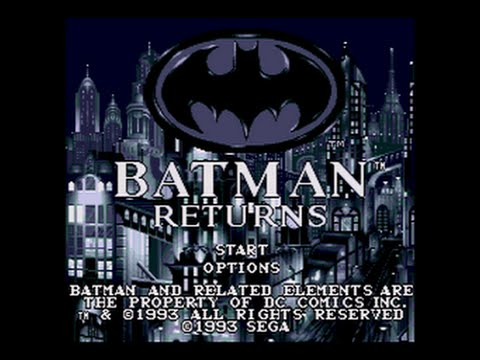 Mega-CD Longplay [058] Batman Returns